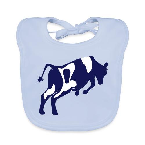 Springende koe vector - Bio-slabbetje voor baby's