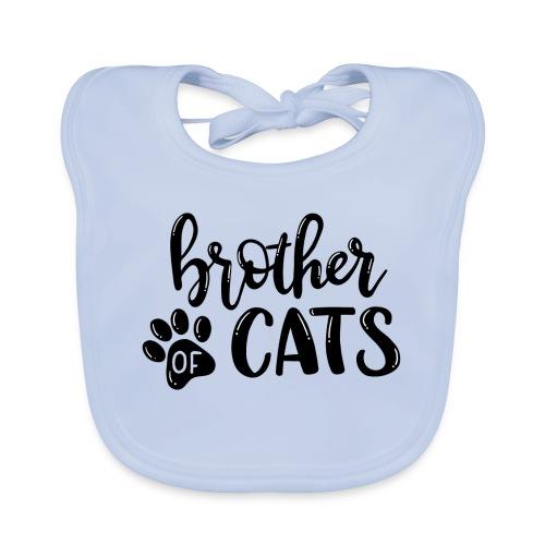 Brother of cats - Baby Bio-Lätzchen