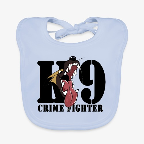 CRIME FIGHTER - Organic Baby Bibs