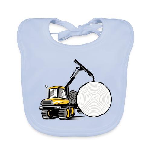 Kuormatraktori t paidat, hupparit, lahjatuotteet - Vauvan luomuruokalappu