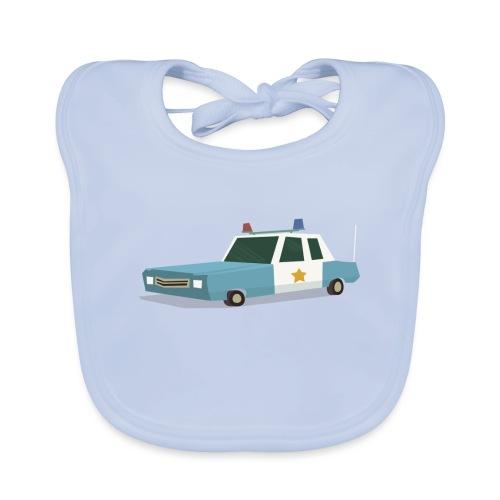 Police car t shirt - Organic Baby Bibs