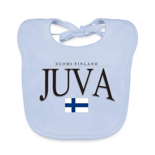 Suomipaita - Juva Suomi Finland - Vauvan luomuruokalappu