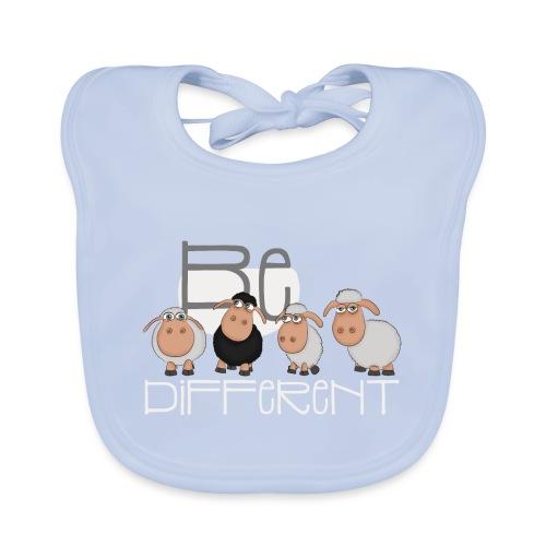 Cool Be Different Sheep Gang - Good Mood Sheep - Baby Organic Bib