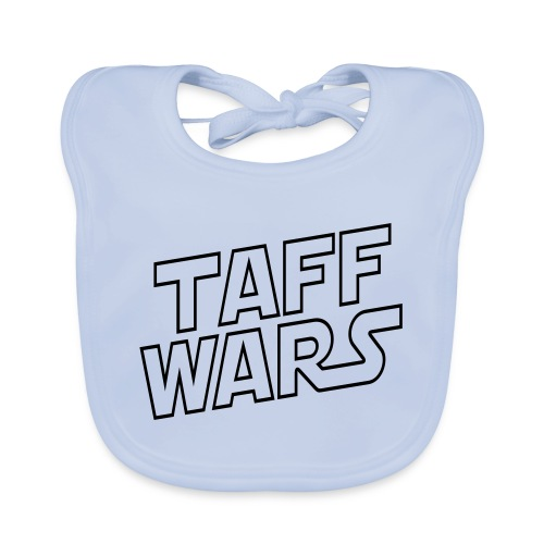 taffwars logo angle - Baby Organic Bib