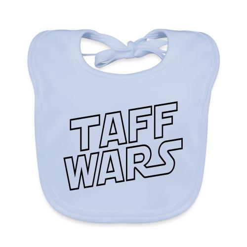 taffwars logo angle - Organic Baby Bibs