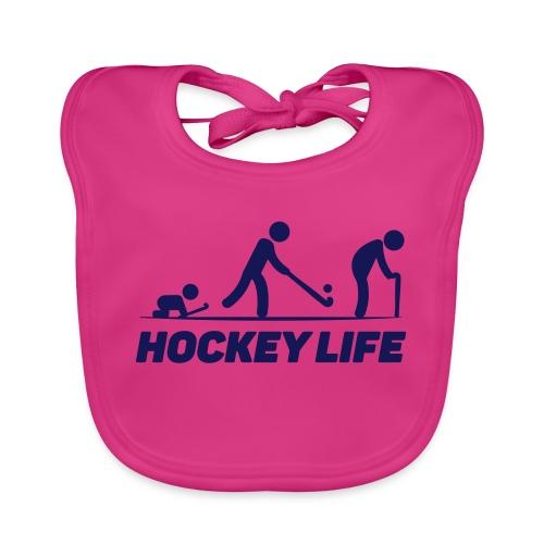 Hockey Life - Bavoir bio Bébé