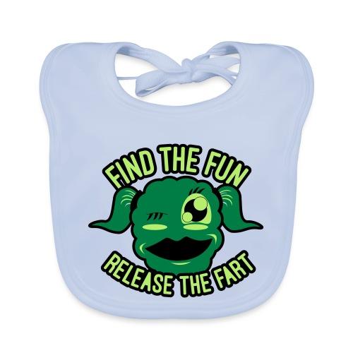 #GirlsOnly: Find The Fun - Release the Fart - Hagesmække af økologisk bomuld