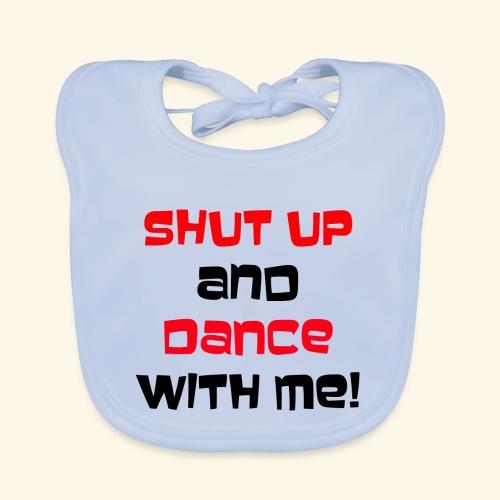 Hou je mond en dans met mij - Bio-slabbetje voor baby's
