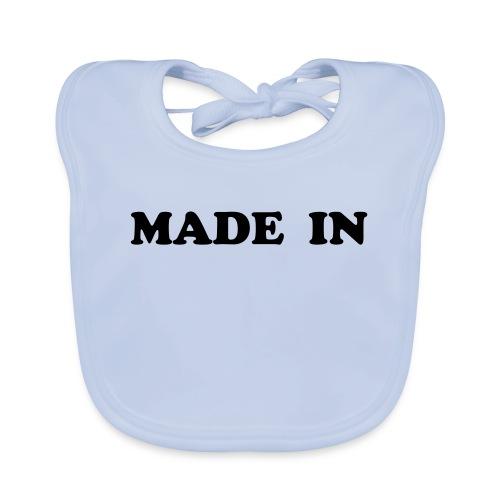 made in baby - Bio-slabbetje voor baby's
