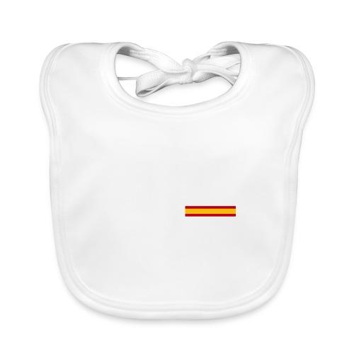 pt derecha blanco españa - Babero ecológico bebé