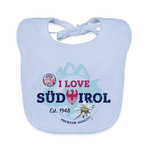 I LOVE SÜDTIROL - Baby Bio-Lätzchen