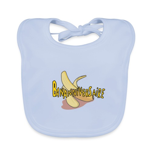 BANNANIVERSAIRE - Bavoir bio Bébé