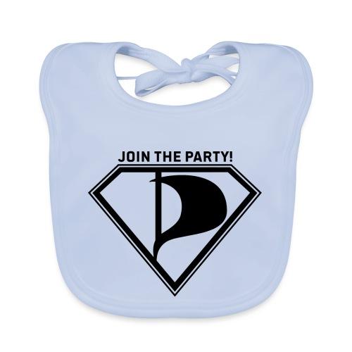 Join the party! - Vauvan luomuruokalappu