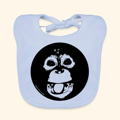 Lustiger Orang - Baby Bio-Lätzchen