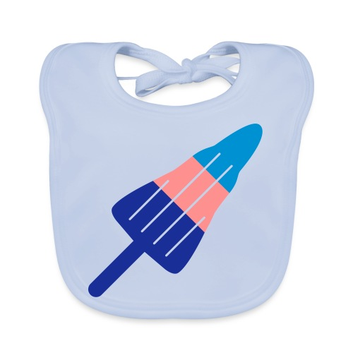 ZOOM ROCKET LOLLY choose your own flavours! - Organic Baby Bibs