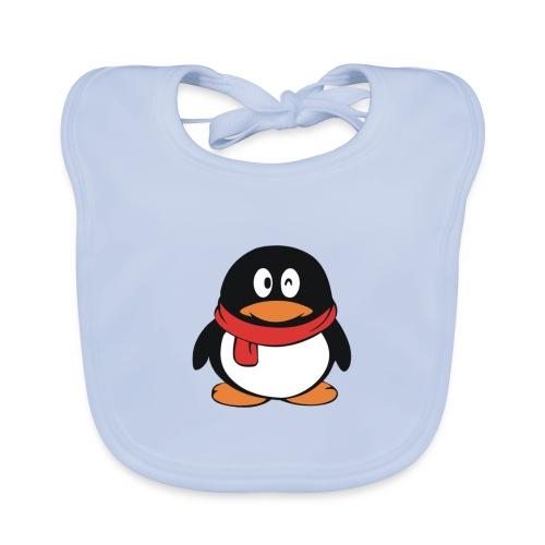 pinguinlog png - Bio-slabbetje voor baby's