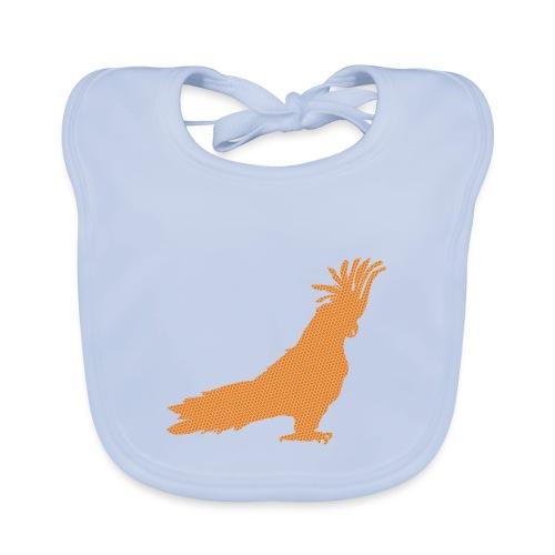 Papagei Orange - Baby Bio-Lätzchen