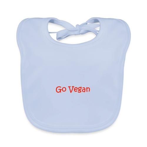 Go Vegan Logo - Baby Bio-Lätzchen