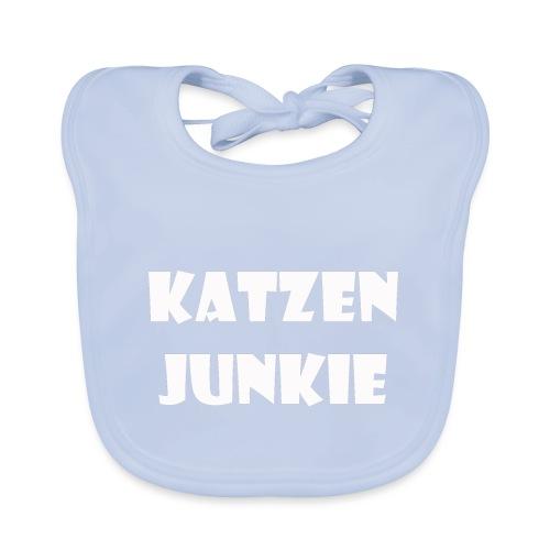 Katzen Junkie 2 - Baby Bio-Lätzchen