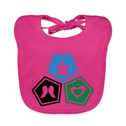 Tee shirt baseball Enfant Trio ange, ailes d'ange - Baby Organic Bib