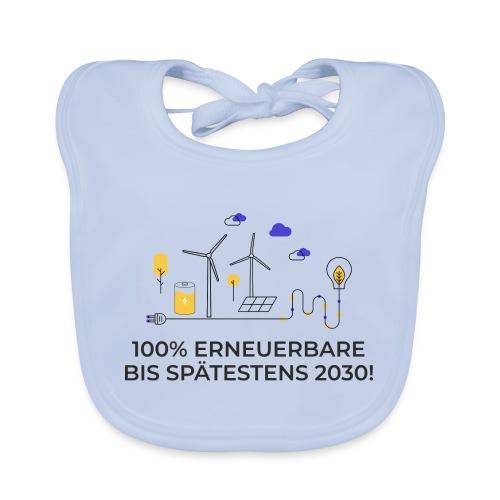 100% Erneuerbare 2030 2 - Baby Bio-Lätzchen