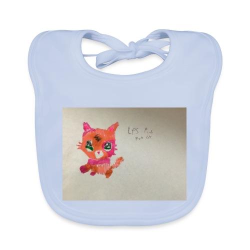 Little pet shop fox cat - Baby Organic Bib