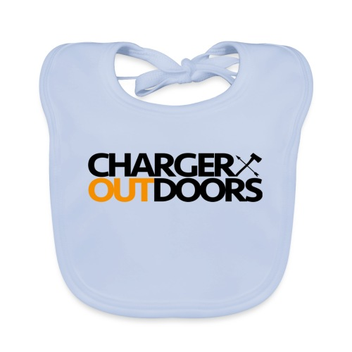 Charger Outdoors Logo - Organic Baby Bibs