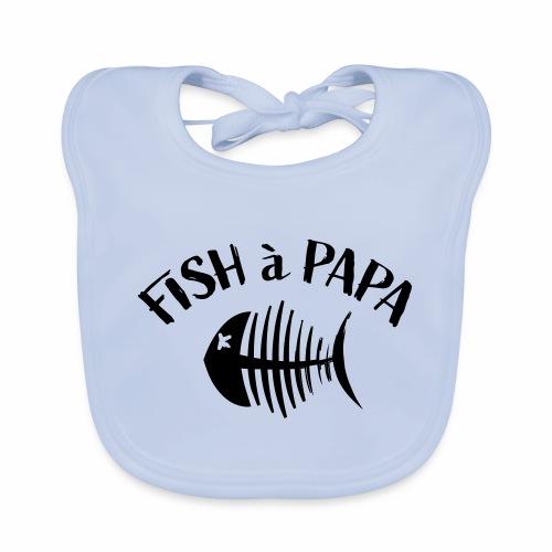 Le Fish à papa - Bio-slabbetje voor baby's