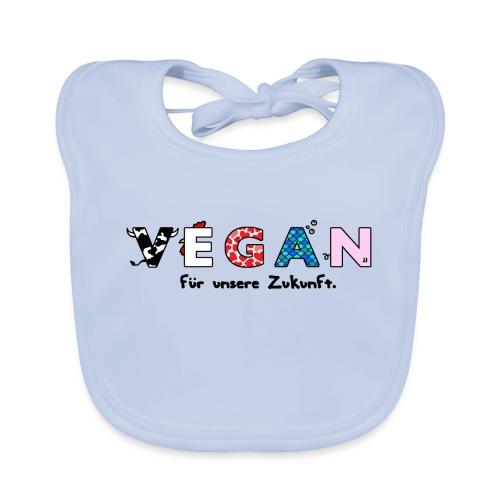 vegan final png - Organic Baby Bibs