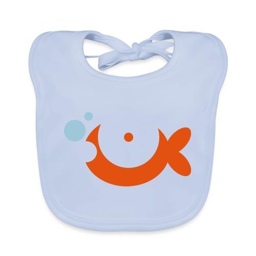 Baby Goldfish Vector - choose design colours - Organic Baby Bibs