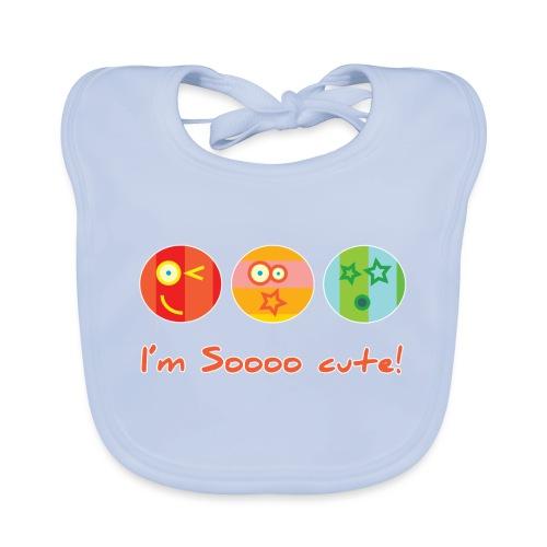 Sooo Cute - Bio-slabbetje voor baby's