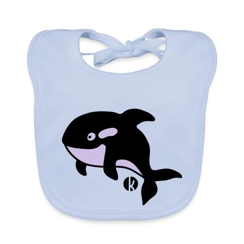 Orka - Orca - Wal - Whale - Baby Bio-Lätzchen