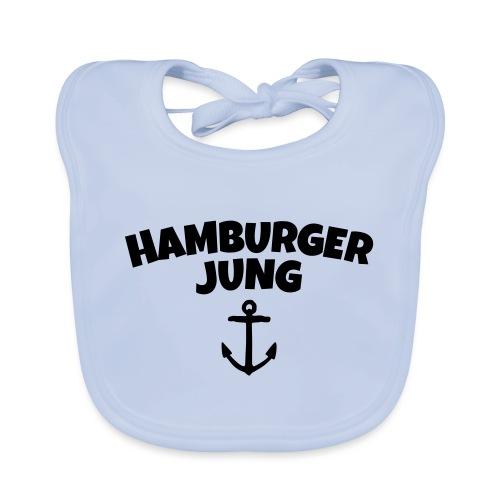 Hamburger Jung aus Hamburg - Baby Bio-Lätzchen
