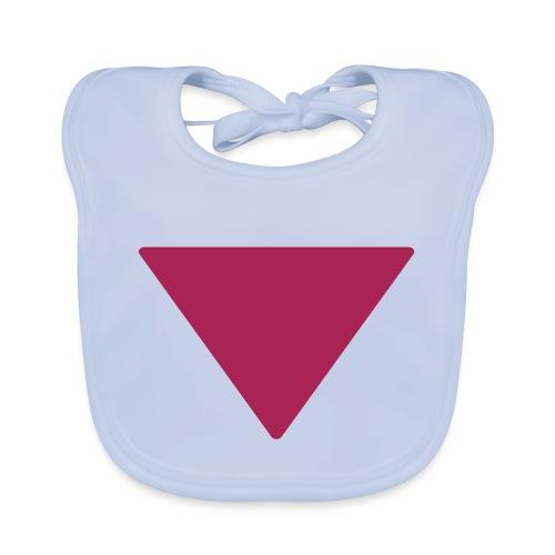 Less is more triangle - Bio-slabbetje voor baby's