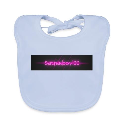 Satnavboy100 Shirt - Baby Organic Bib