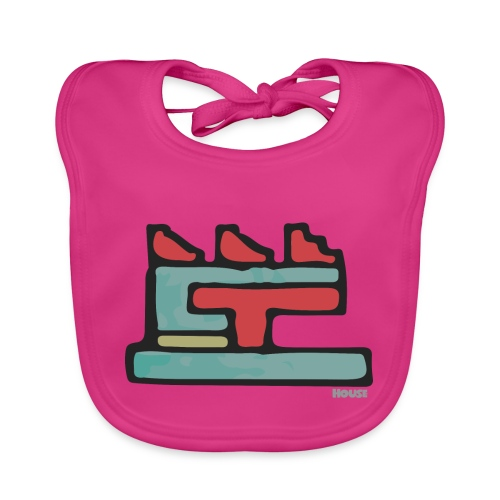Aztec Icon House Night - Organic Baby Bibs