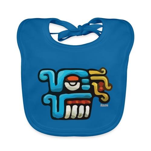 Aztec Icon Rain - Organic Baby Bibs