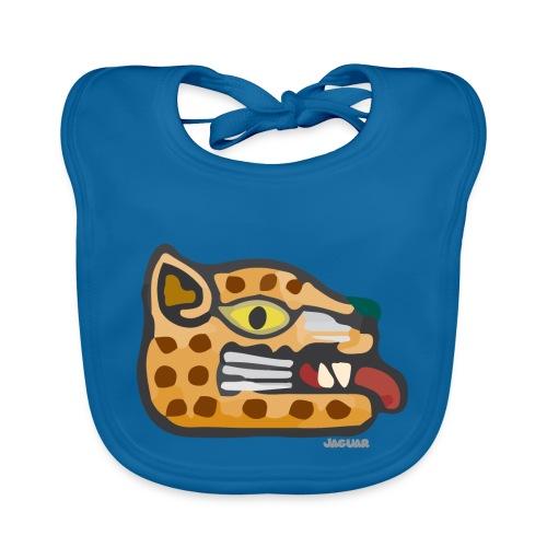 Aztec Icon Jaguar - Organic Baby Bibs