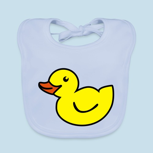 Ente - Baby Bio-Lätzchen