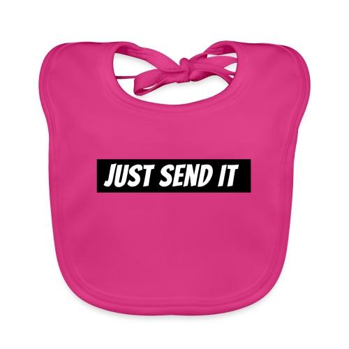 just send it logo - Baby Organic Bib