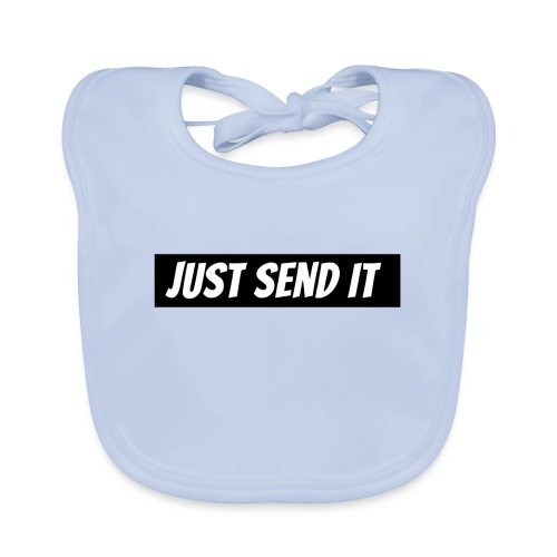 just send it logo - Baby Organic Bib