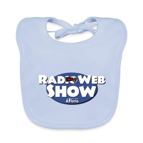 Logo RadioWebShow - Bavaglino ecologico per neonato