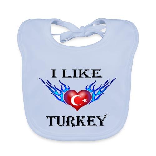 I Like Turkey - Baby Bio-Lätzchen