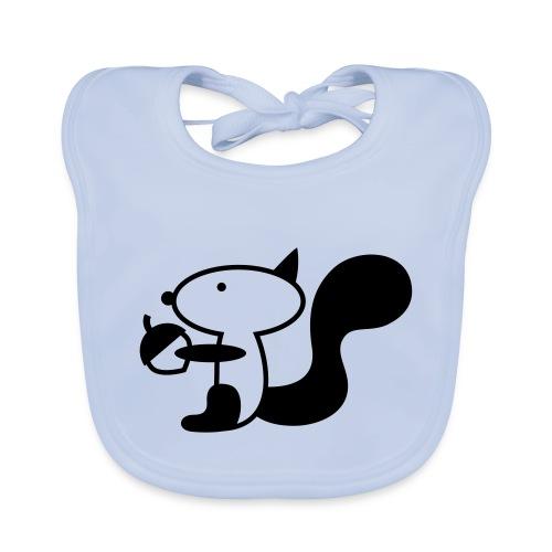 squirrelbw - Bio-slabbetje voor baby's