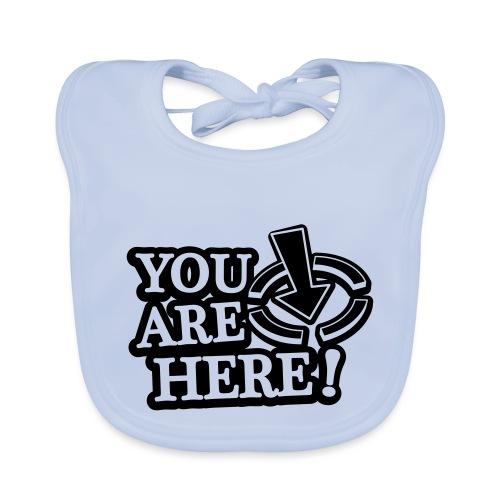 You are here! - Baby Organic Bib