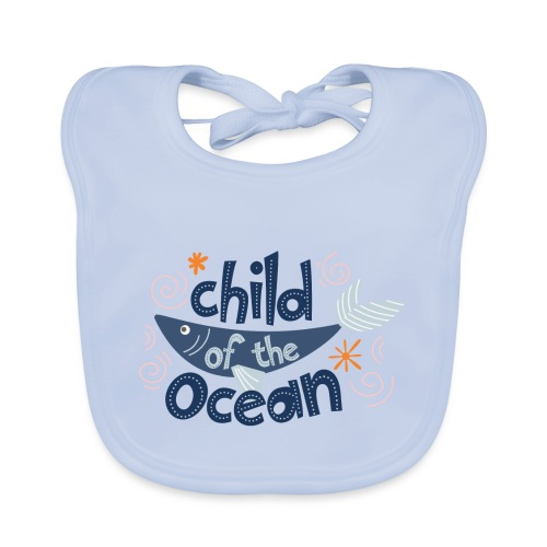 ChildOfTheOcean - Bavoir bio Bébé