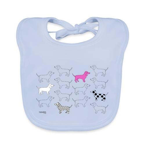 Puppies forever - Vauvan luomuruokalappu