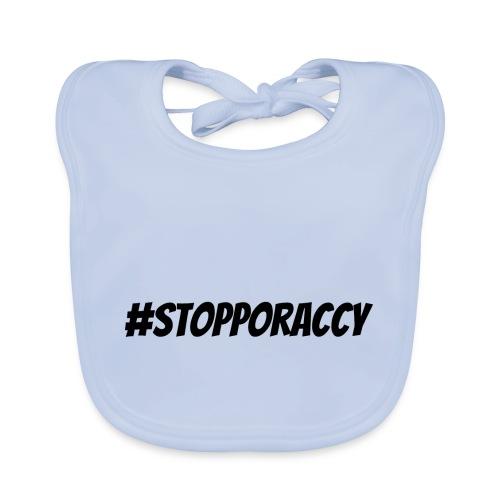 Stop Poraccy - Bavaglino ecologico per neonato