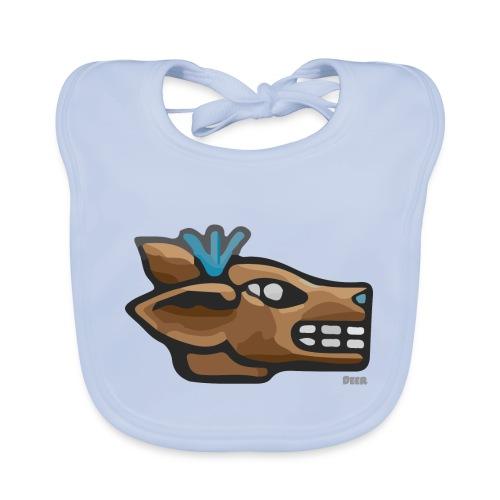 Aztec Icon Deer - Organic Baby Bibs