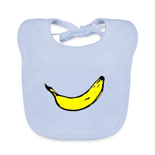 Banan 1 - Ekologisk babyhaklapp